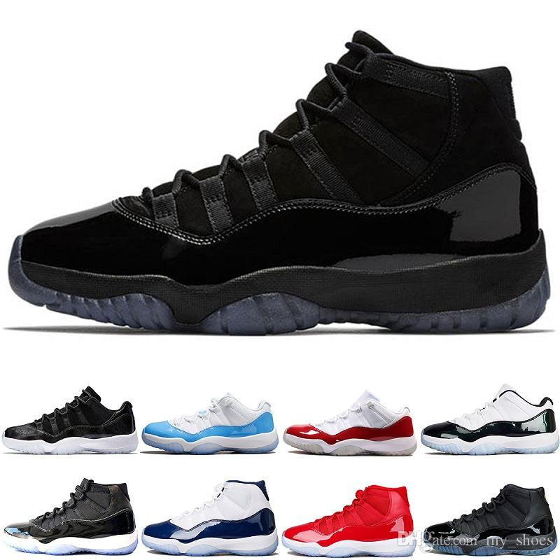 info for 123a3 cfc87 2018 New Cap And Gown XI 11s PROM NIGHT 11 BLACKOUT 378037-005 Men Women  Basketball Shoes Mens Athletic Sneakers 11s Brand Sport Shoes 11 Sneaskers  for Mens ...