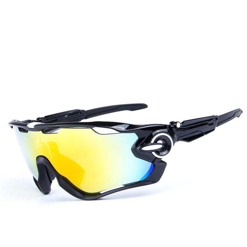 d632e09cf3b 5 Lens Men s Polarized Cycling Sunglasses UV400 Road Bike Eyewear ...