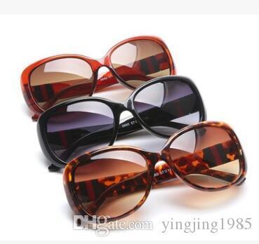 Женские солнцезащитные очки Модные круглые женские винтажные ретро-бренды дизайнер Негабаритные женские спортивные солнцезащитные очки 3660