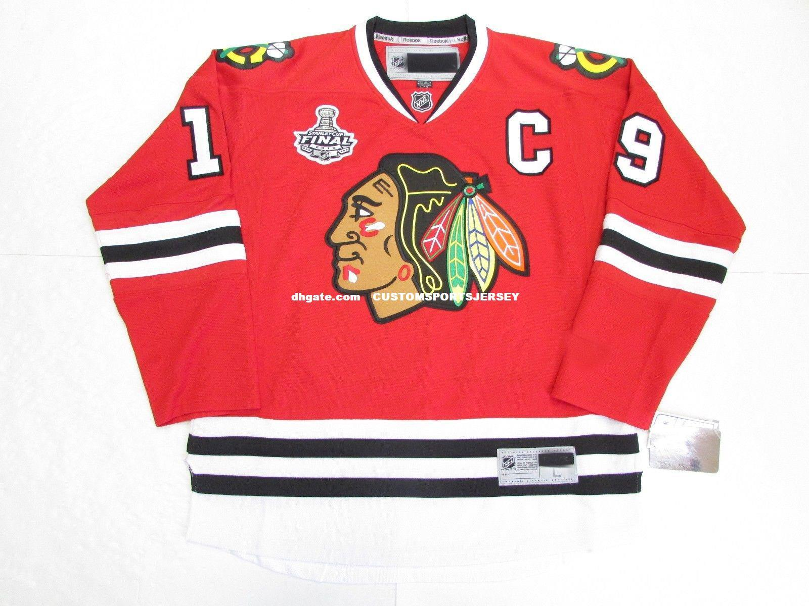... number a  2018 cheap custom jonathan toews chicago blackhawks home 2010  stanley cup hockey jersey stitch add a 3f17214c2