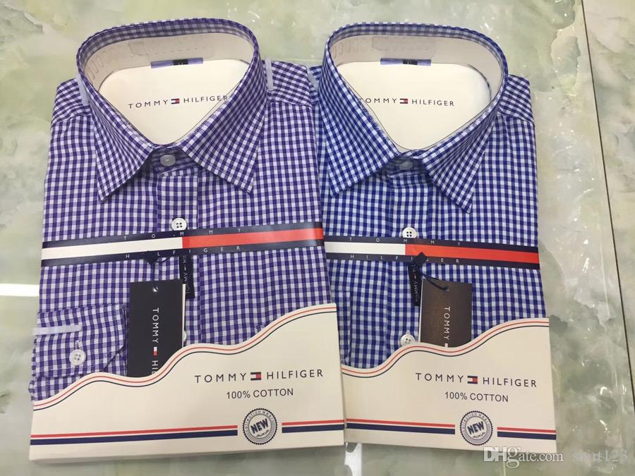 Men Shirt Brand Men Clothes Slim Fit Mens Long Sleeve Shirt Men s ... 146a3b4b722f