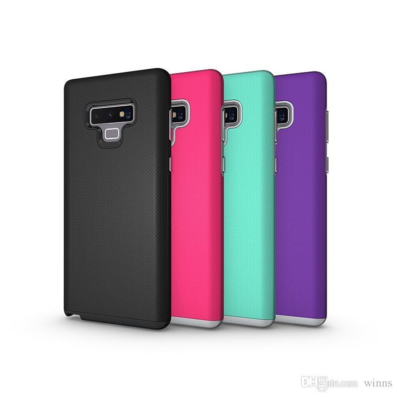 12048d561ce Carcasas Para Moviles Para Samsung Galaxy Note 9 Case 2in1 Anti Skid Armor  Hard PC TPU Contraportada Caja Del Teléfono Para Samsung Note 9 A8 Carcasas  ...