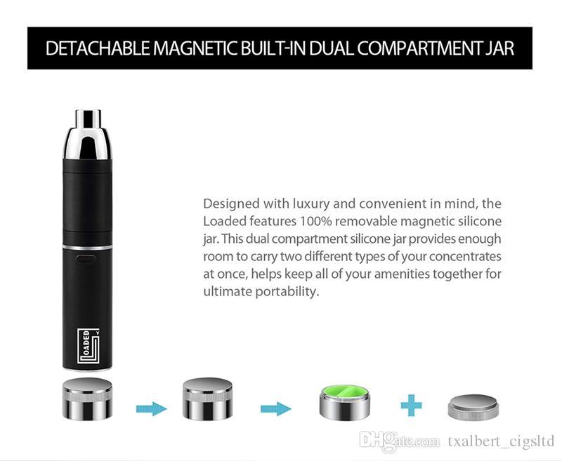 100% Orijinal Yocan Yüklenen Başlangıç Kitleri 1400 mah Pil QUAD QDC Uzatılabilir Ağızlık Vape Kalem Ile Mevcut Coli sigara gelişmeye artı