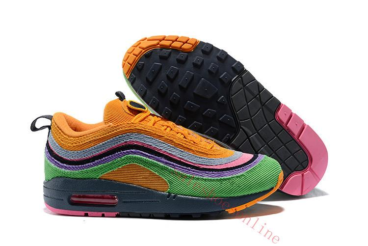 Hot Sale Brand New Classic 97 Sean Wotherspoon Men Running Shoes Top ... dbfcf77a1