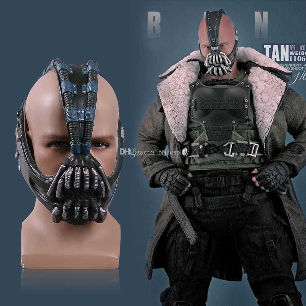 2018 bane mask batman dark knight horror mask halloween and christmas costume ball bane helmet mask latex from bfjcosplay 1609 dhgatecom - Halloween And Christmas