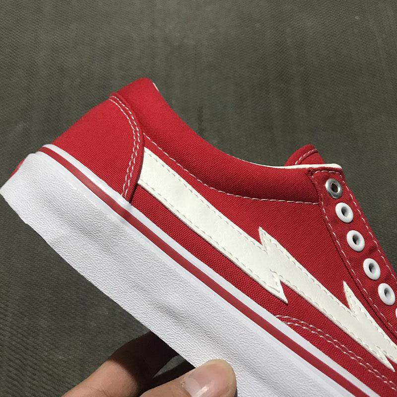 2019 NEWEST 2018 REVENGE X STORM II VOL.1 LOW TOP RED BLACK PLAID RXSTRMLT  RD POP UP STORE GD122 INS CANVAS SKATEBOARD SHOES HIP HOP From Freedomfly 4e004947c