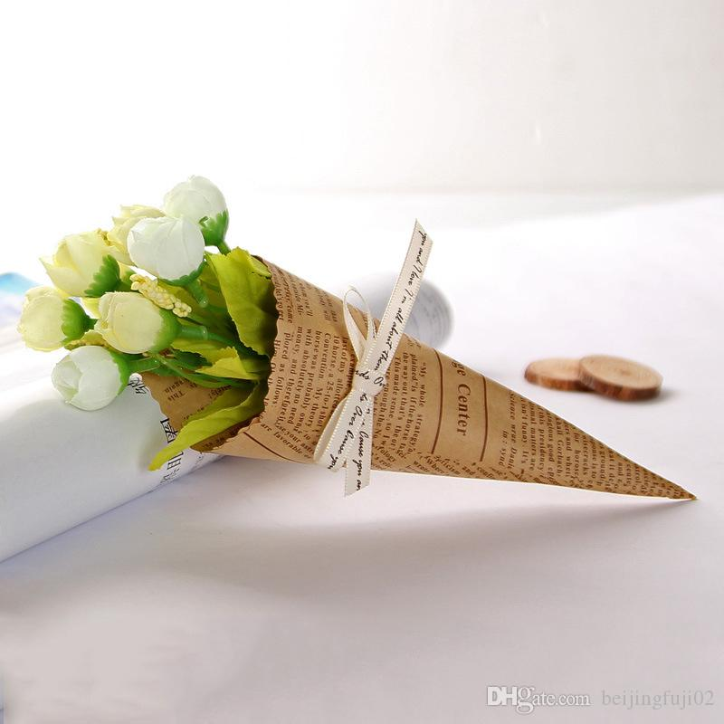 New Artificial Simulation Flower Bouquet Silk Flower For Wedding Party Home Decoration Photo Props