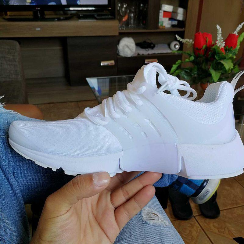 Presto Yeni 5 BR QS Erkekler Bayan Sneaker Tripel Siyah Beyaz kırmızı Koşu Ayakkabıları mens eğitmen spor ayakkabı atletik Koşu ayakkabı boyutu 36-45
