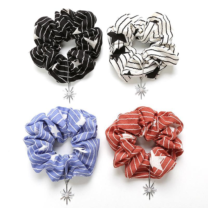 Hair Tie Scrunchies Women Accessories Hair Bands Ties Scrunchie Ponytail  Holder Rubber Rope Fashion Decoration Girls Hairbands Hair Accessories For  Kids ... 59ff6836461