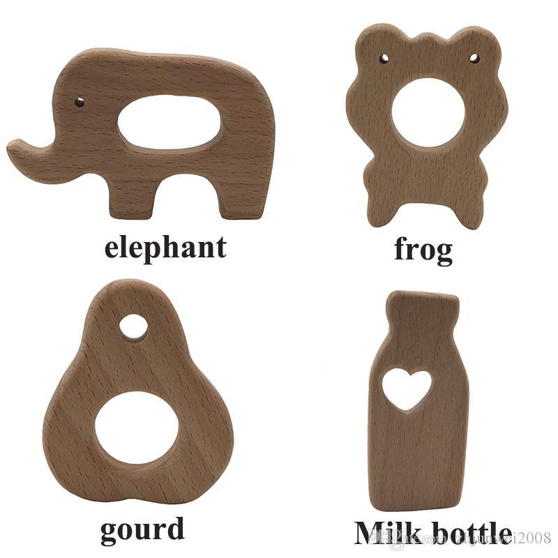 Деревянная игрушка-прорезыватель, детское безопасное ожерелье для кормления грудью медсестры. Жевательный бук.