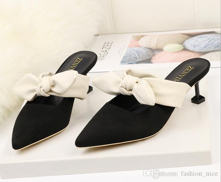 Women Pumps High Heels Ladies Shoes Elegant Pointed Toe Wedding ... 5a0cf0bbd6db