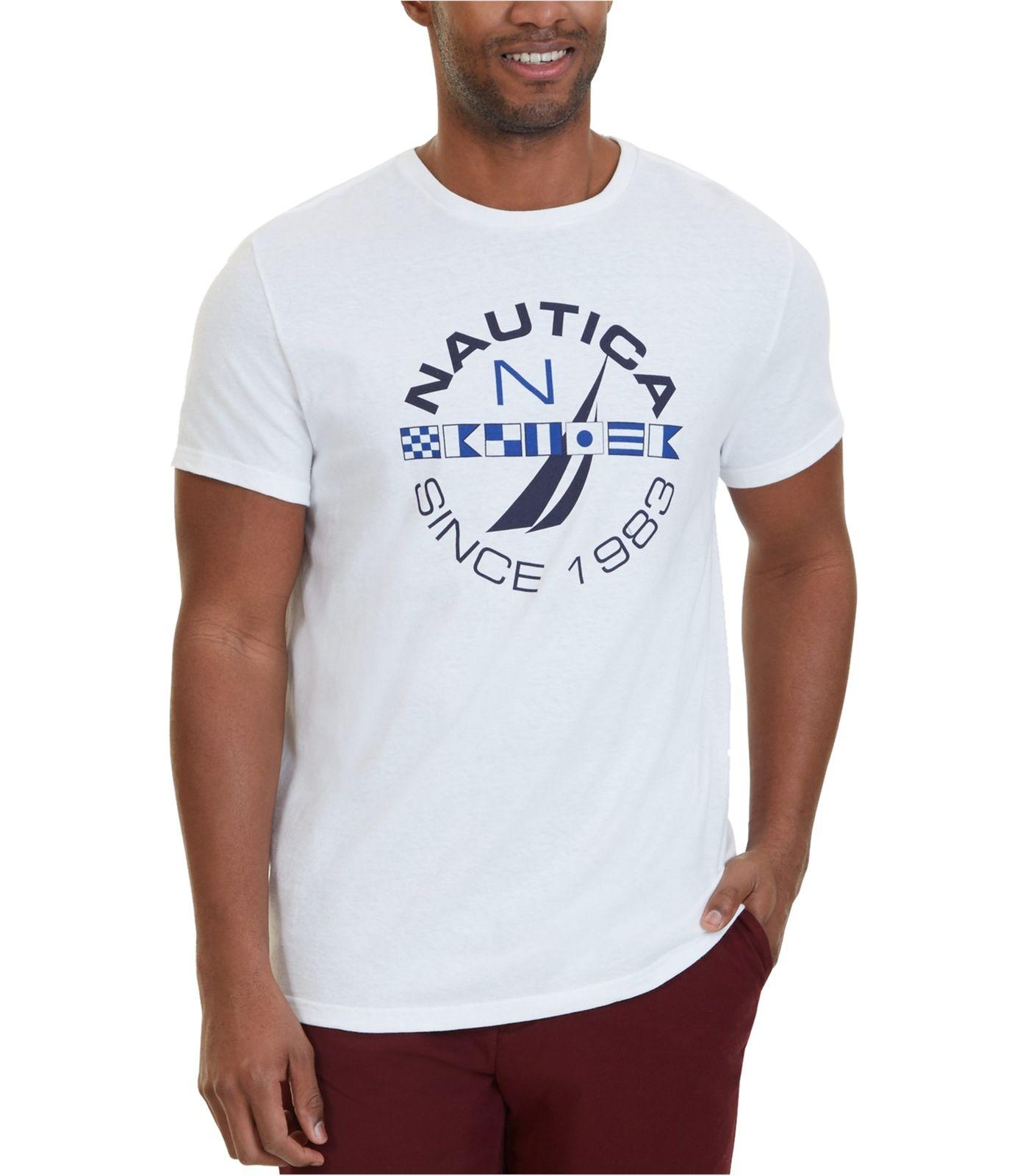 78002da56fb8 Nautica Mens Exclusive Logo Graphic T Shirt T Shirt Shopping Online T Shirt  Humor From Brawtees, $11.01  DHgate.Com