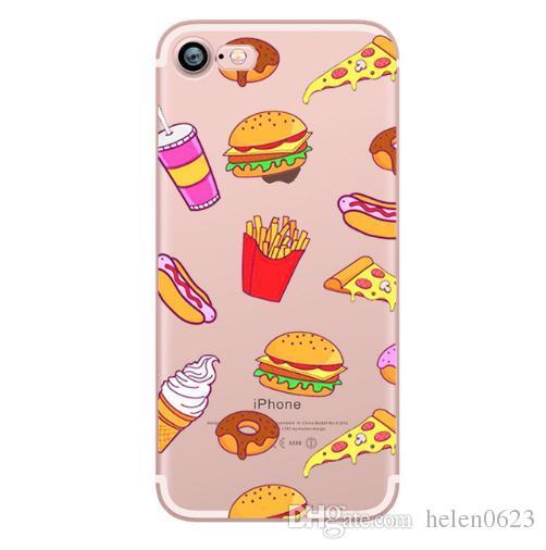 ciciber Mickey&kiss Lips pineapple unicorn Flamingo cactus soft silicone cases cover for iphone 6 6S 7 8 plus 5S SE X
