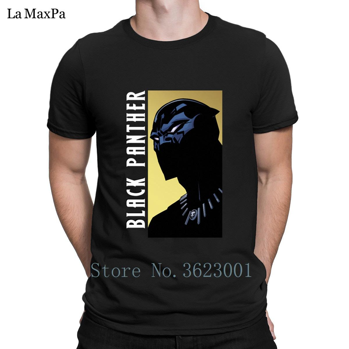 dab596b0 Building Slim T Shirt Black Panther Profile Men'S Tshirt Solid Color T Shirt  For Men Natural Tee Shirt Man Plus Size 3xl Gift Funny Vintage T Shirts T  ...