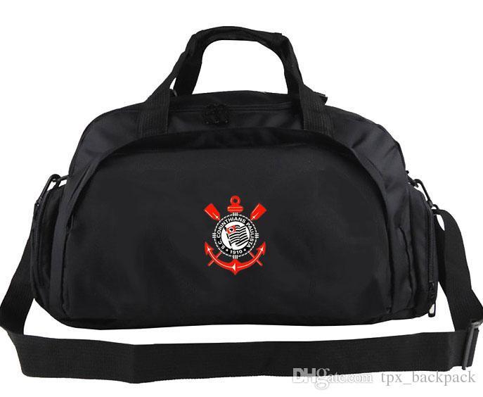 Corinthians Duffel Bag SC Paulista Tote Brazil Football Club Backpack  Soccer Exercise Luggage Sport Shoulder Duffle Outdoor Sling Pack Duffle Bags  For Women ... cb0279a64fa1c