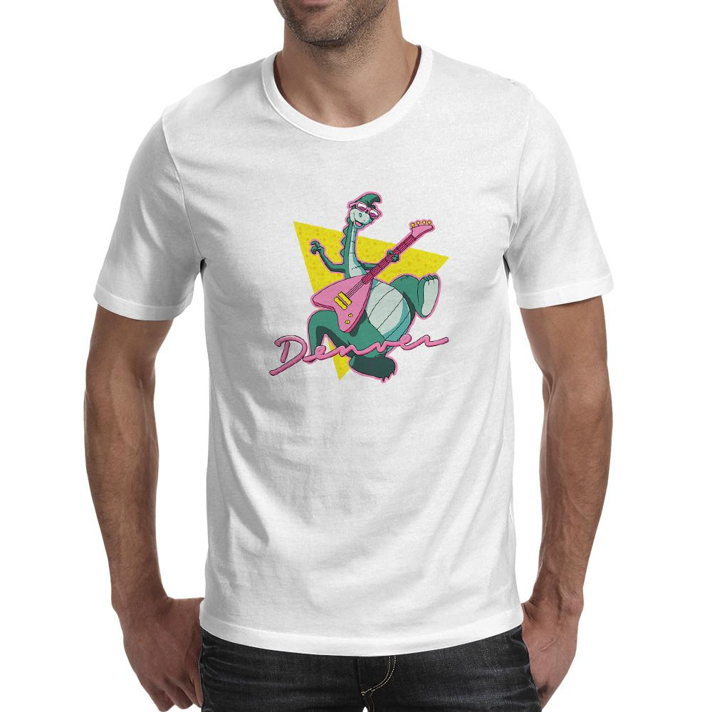 552b8045a3c Denver The Last Dinosaur Guitarist T Shirt Fashion Design Creative T Shirt  Print Skate Casual Unisex Tee Customised T Shirts Ladies T Shirts From ...