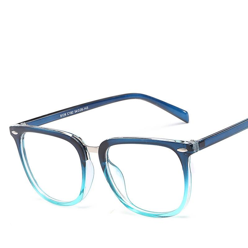 bea47ff2a0 2019 DOWER ME 2018 Fashion Trend Men Clear Frame Eyeglasses Rivet  Transparent Glasses Women Clear Glasses Optical Lens Oculos From Shuidianba