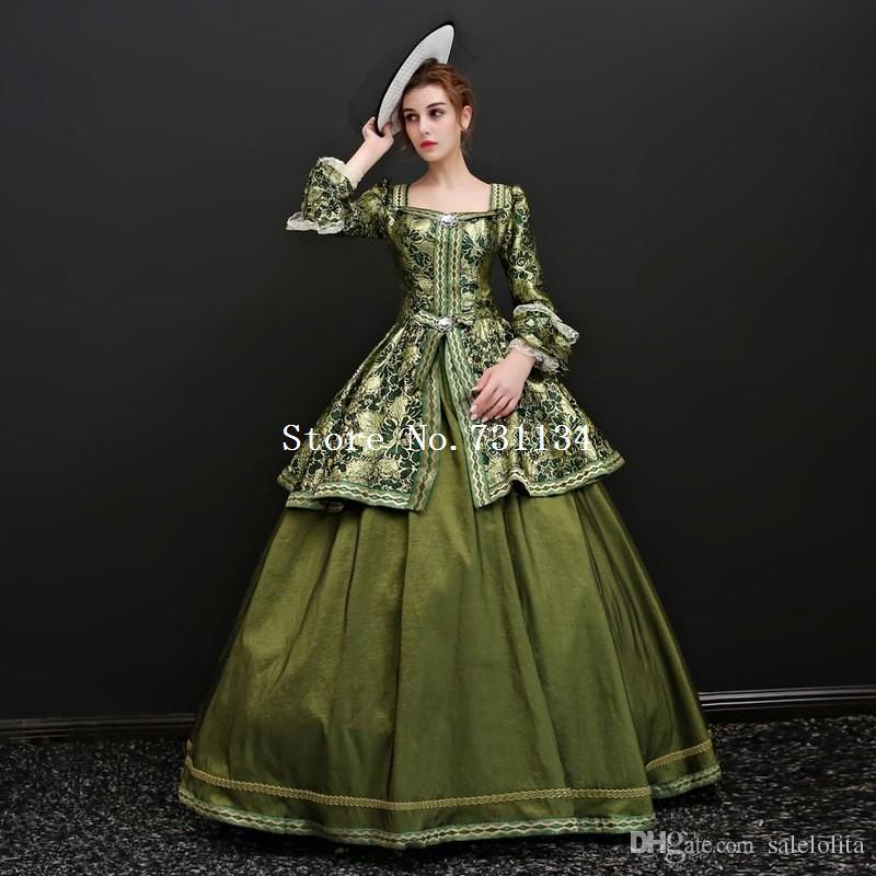 2018 17th 18th Century Rococo Princess Gowns Marie Antoinette ...