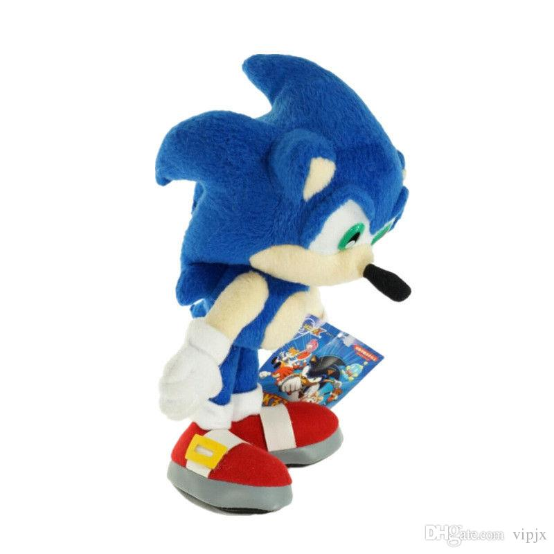 18cm Sonic The Hedgehog SEGA Sonic Stuffed Plush Soft Doll Toy gift