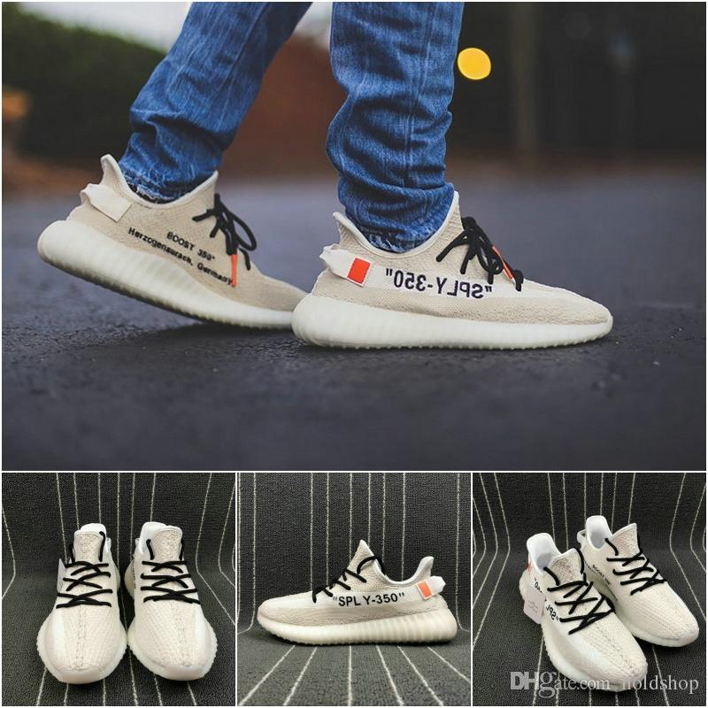 2018 Joint Kanye West 350 V2 Boost New Arrival Originals Running Shoes  Sply-350 Runner Boots Sports Sneakers 5-11.5 Running Shoes Basketball Shoes  Men Shoes ...