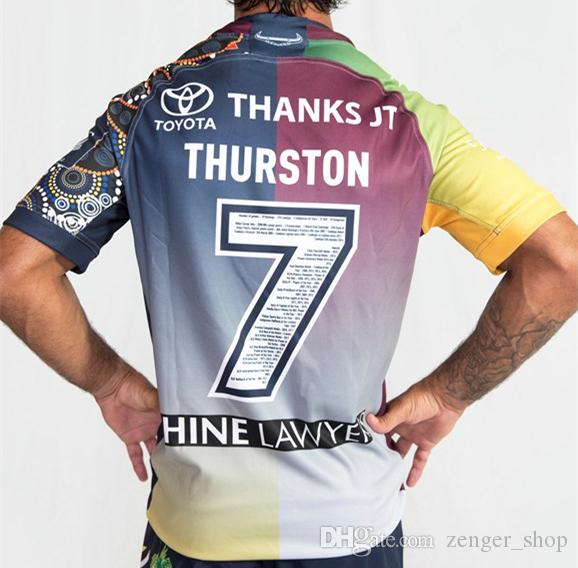 7b1a4bcddfd 2019 North Queensland Cowboys 2018 2019 Jt Testimonial TESTIMONIAL JERSEY  Cowboys Rugby Jerseys NRL National Rugby League Shirt Nrl Jersey From  Zenger_shop, ...