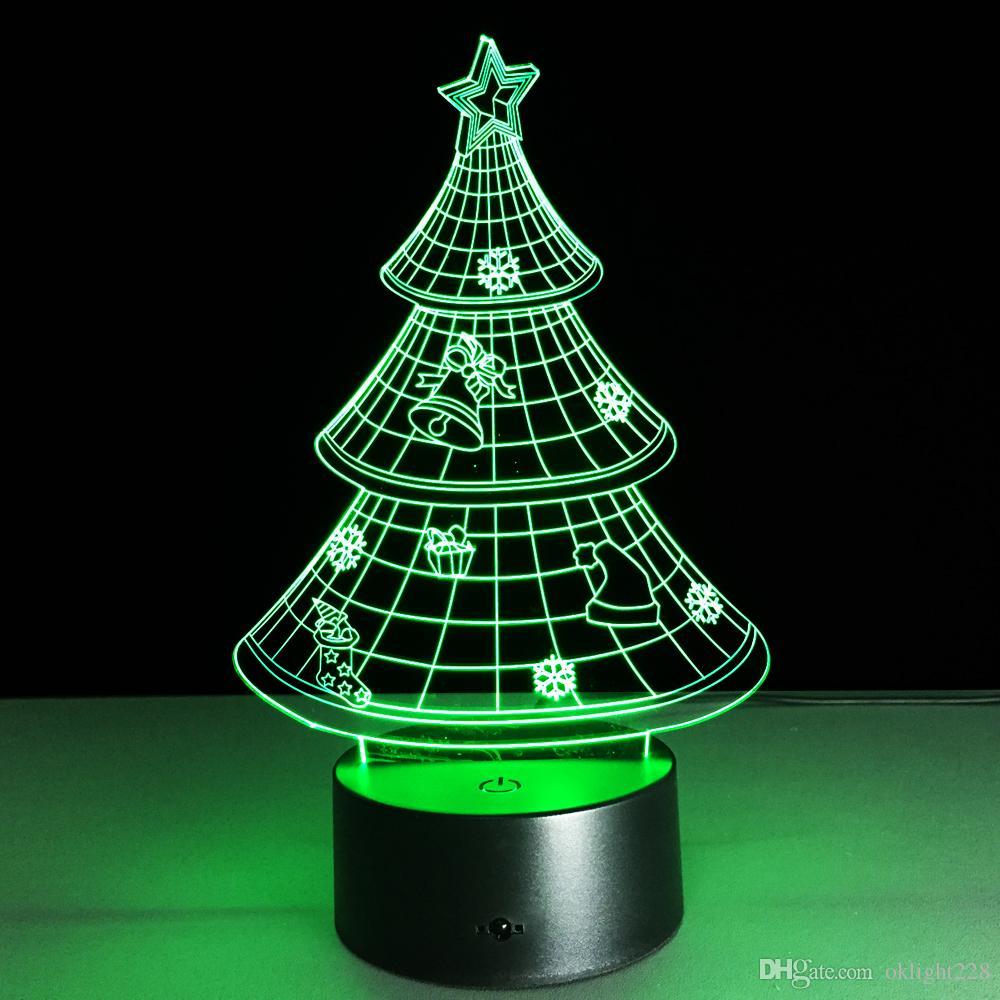 2018 novelty led night light 3d christmas tree night lamp with aa usb two model power night lamp from oklight228 1387 dhgatecom