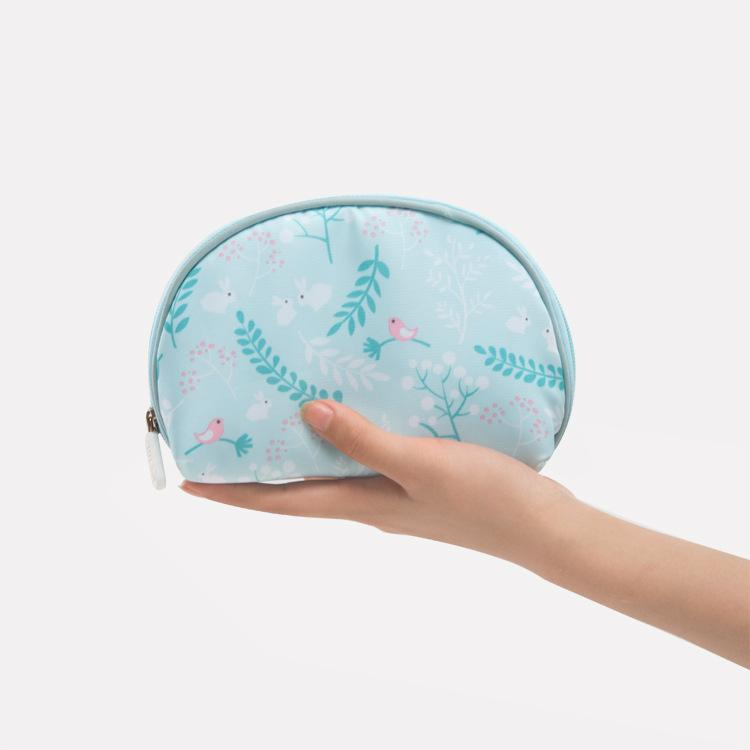 WULEKUE Cosmetic Bags Women Multifunction Travel Makeup Storage Beautician Small Shell Bags For Mobile Phone Case Waterproof