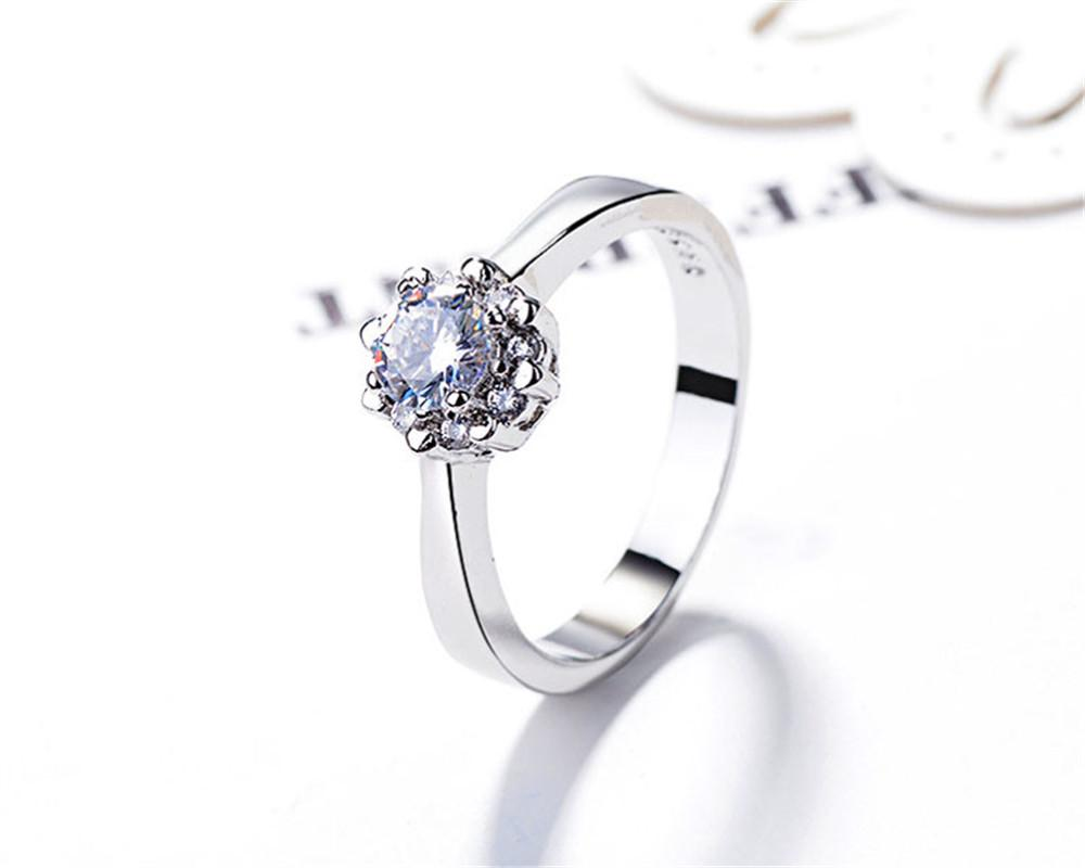 Jewelry & Accessories Fanala Fashion Zircon Rings For Women Mini Watch Appearance Alloy Stainless Steel Rings For Women High Quality