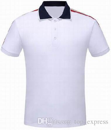 b19253924 2019 Express Italy Fashion Brand Men Polo Shirt Solid Short Sleeve Slim Man  Sports Polo Shirts Casual Camisa Polos Red White From Top_express, ...