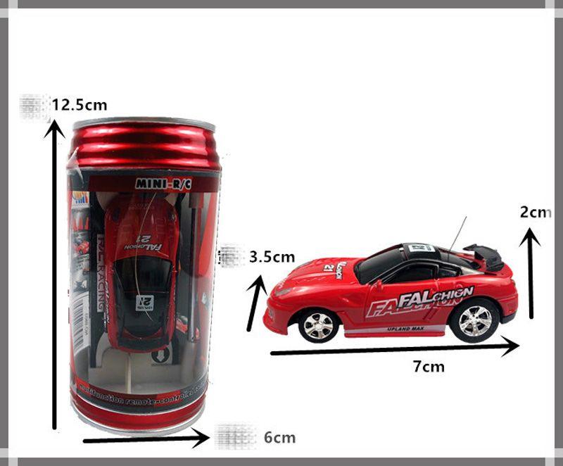 New Mini-Racer Remote Control Car Coke Can Mini RC Radio Remote Control Micro Racing 1:64 Car 8803 B