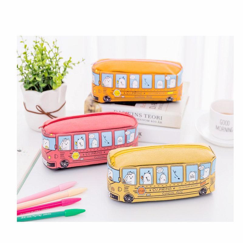 Mini Automobile Creativity Stationery School Supplies Cute Orange