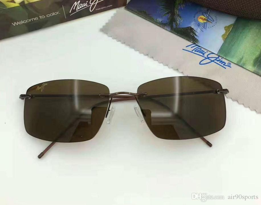 2fc8be3adcf Brand Designer Maui Jim 715 Hookipa Sunglasses MJ715 Men Women MJ ...