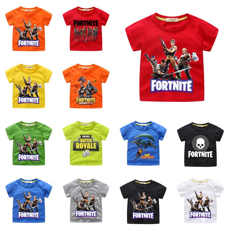 Kids T Shirts Design | 2019 Fortnite Kids T Shirts 54 Designs 2 12 Years Old Kids Baby Boys