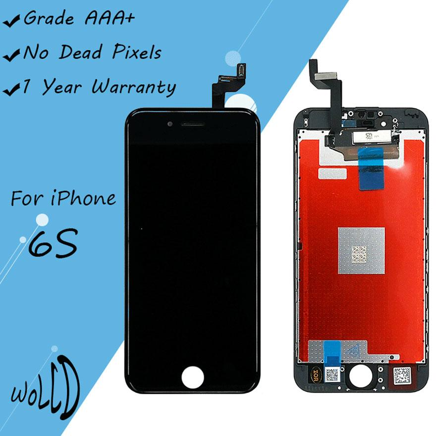 super popular b6087 9a900 Grade AAA for iPhone 6S 4.7 inch LCD Replacement screen with 3D Touch  Digitizer with Frame Assembly