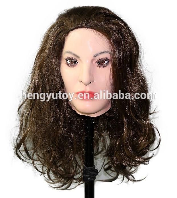 Transvestite in latex