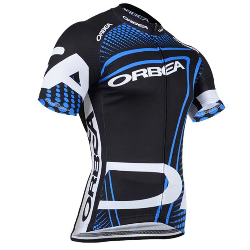 Maglia da ciclismo manica corta squadra ORBEA Maglia a maniche corte da ventilazione semplice montagna Mountain Road riding a manica corta Q42013