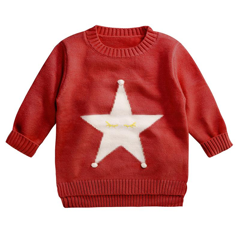 Immdos Kids Sweater Cardigan Brand Baby Boys Sweaters O Neck Girl
