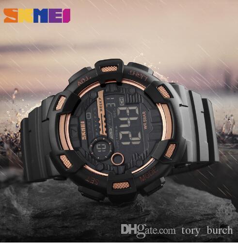 SKMEI Brand Men S Fashion Sport Watches Chrono Countdown Men Waterproof  Digital Watch Man Military Clock Relogio Masculino New Watch Buy Online  Watch Buy ... 89de538606