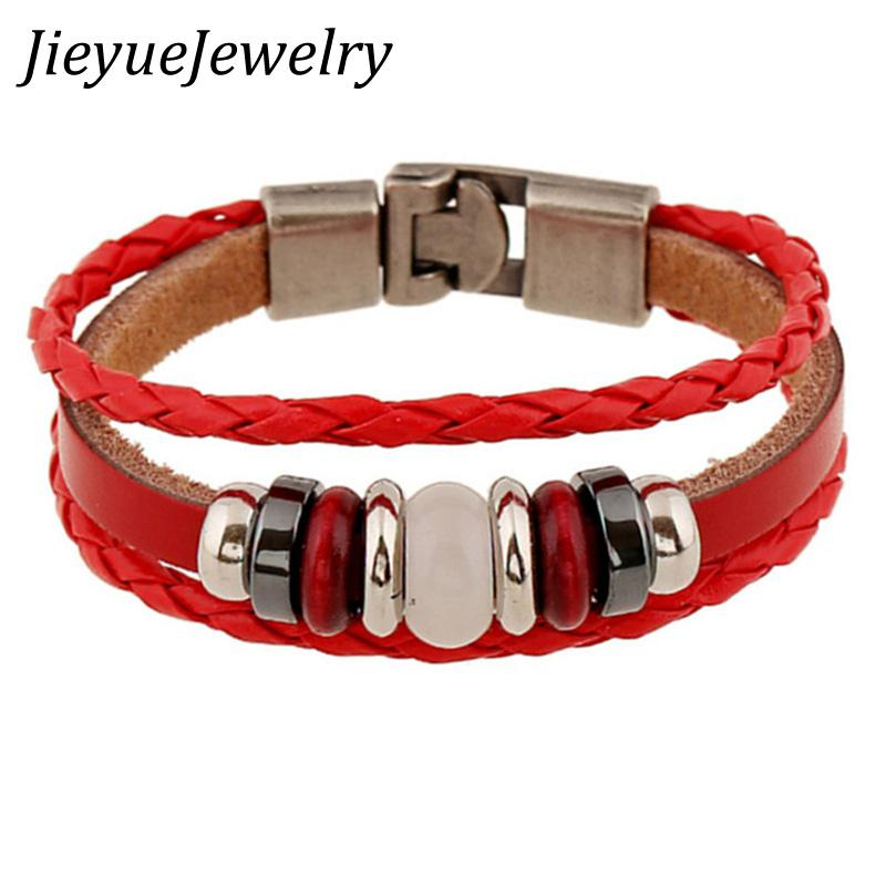 01303427915c73 Retro rope leather mens bracelets leather rope hand woven bracelet for men  braided Eye bracelet male female