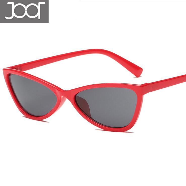 4a1954df33 New Small Red Cat Eye Sunglasses Sexy Women Brand Design Leopard Cateye  Frame Retro Skinny Triangle Slim Sun Glasses Shades Running Sunglasses  Sunglasses ...