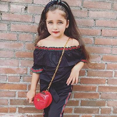 d75c7db099b Girls Off Shoulder Tops+Long Pants Outfits Summer 2018 Kids Boutique  Clothing 1 6T Little Girls Flare Sleeves Tops Set Canada 2019 From  Jaderabbit
