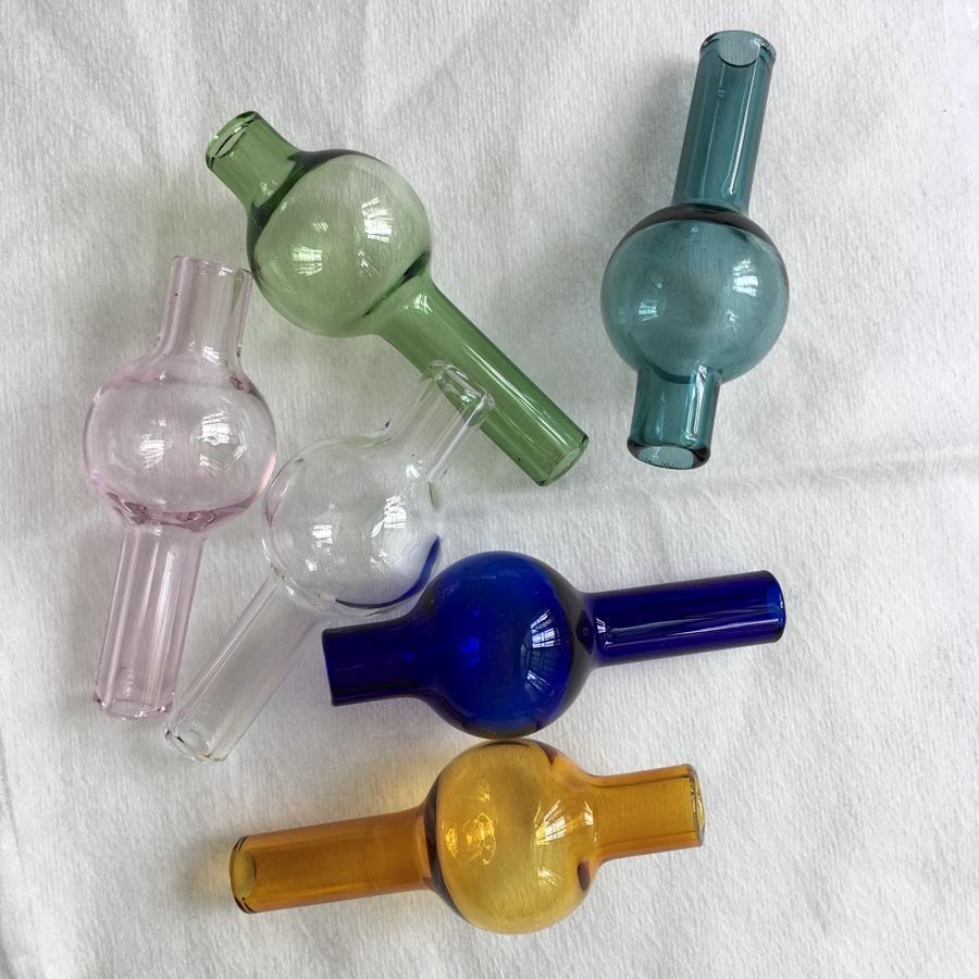 최신 유니버설 유리 거품 수화물 캡 둥근 유리 돔, XL 두께 석영 열 깡패 못 뚜껑