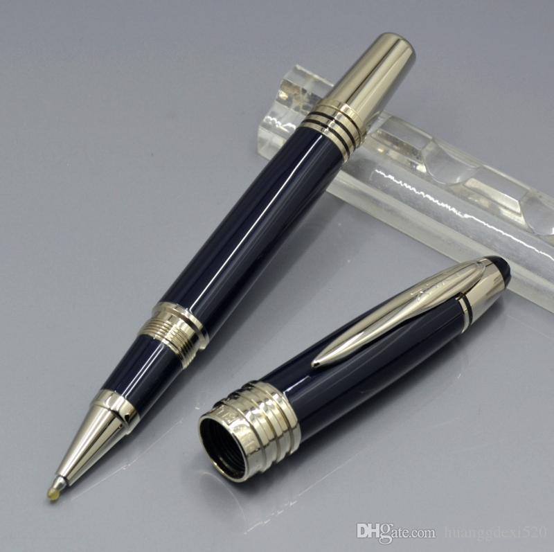 Горячая продажа-великий Джон Кеннеди многие стиль Роллербол ручка шариковая ручка авторучки Монте JFK Марк клип школа канцелярские принадлежности с Nunber
