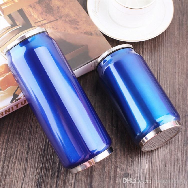 La bottiglia di acqua dell'acciaio inossidabile del commestibile dell'acciaio inossidabile del commestibile dell'acciaio inossidabile del commestibile di grado 304 inscatola le latte della tazza di bowling all'ingrosso