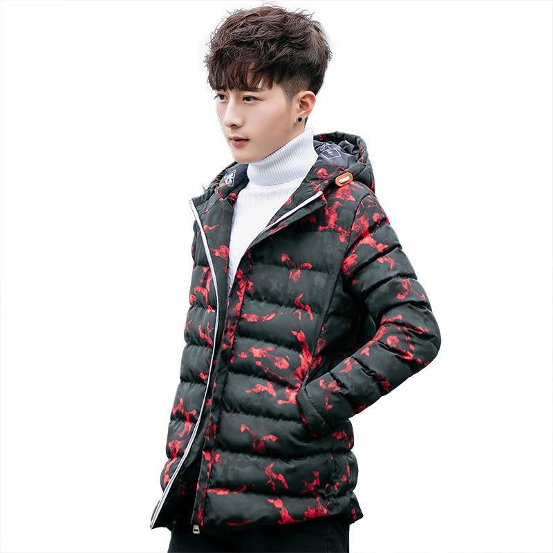 Winterjas Heren 2019 Trend.2019 Winter Cotton Korean Men S Slim Jacket 2018 New Trend Cotton