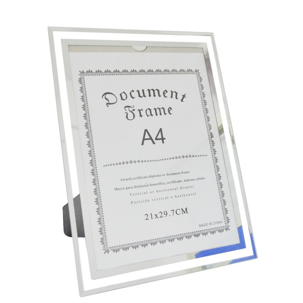 Giftgarden A4 Glass Document Frames Tabletop Certificate Frame ...