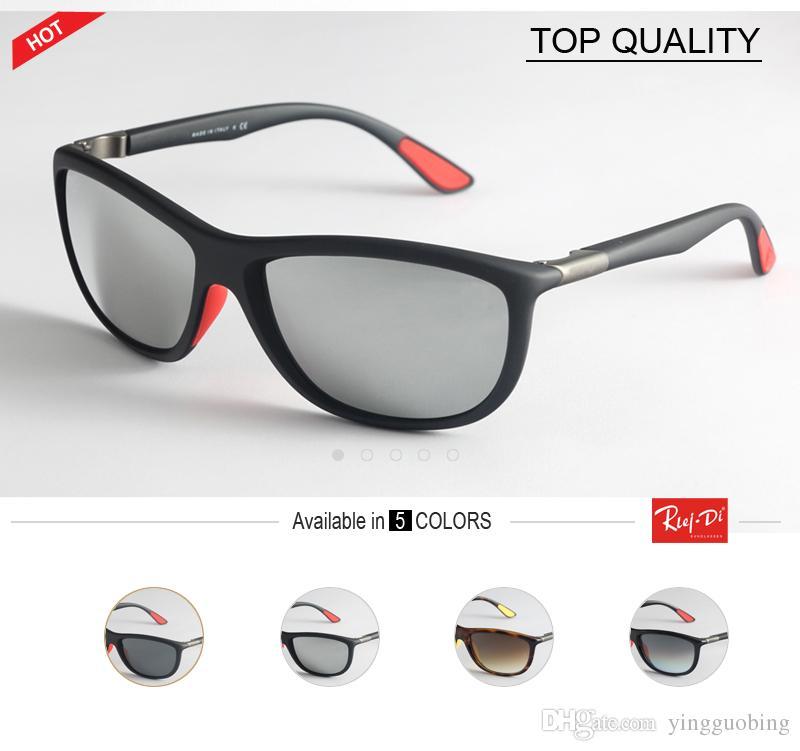 0c3056a85 Compre Rlei Di Marca Unisex Designer Retro Flash Óculos De Sol Uv400 Lente  De Vidro Do Vintage 8351 Óculos Acessórios Óculos De Sol Para Homens /  Mulheres ...