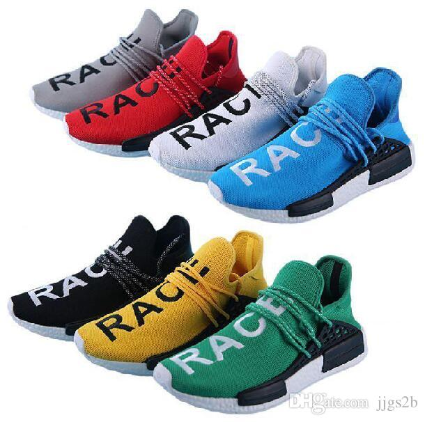 26efe71d67d45 2017 New Human Race Pharrell Williams X NMD Sports Running Shoes Discount  Cheap Top Athletic Mens Outdoor Boost Training Sneaker Mens Dress Shoes  Platform ...