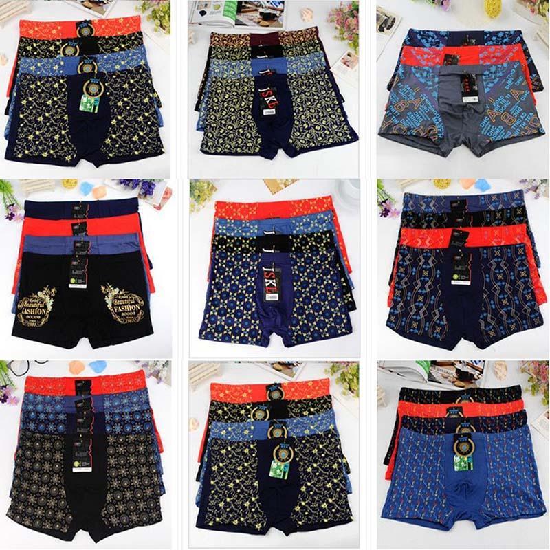 b3b4600cf 2019 Comfy Men Mens Prints Mens Boxer Underwear Plus Size Panties Underpants  For Men Male From Waistband18