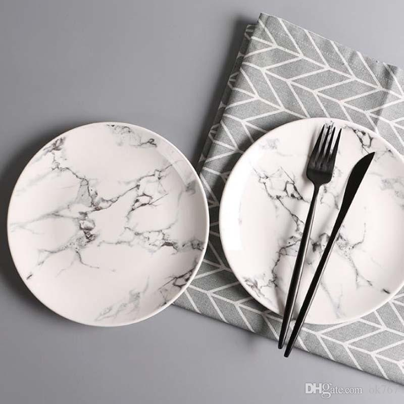 Hot Creative Ceramic Dishes Home Round Fruit Plate Hotel Dishes Dishes Gift Tableware Hotel Dinnerware Ceramic Dishes Home Round Fruit Plate Dinnerware ... & Hot Creative Ceramic Dishes Home Round Fruit Plate Hotel Dishes ...